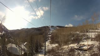Hight Up In The Chairlift