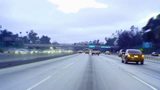 Highway Color Timelapse