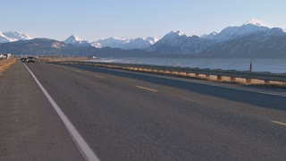 Homer Spit Road in Late Afternoon