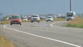 Homer Spit Road Traffic