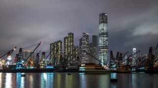 Hong Kong at Night Time Lapse