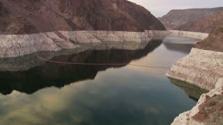 Hoover Dam Stream Sunset TL