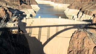 Hoover Dam Sundown
