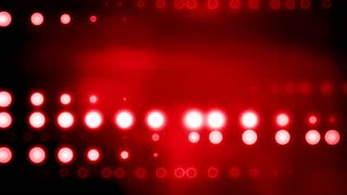 Horizontal Red Stage Lights