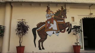 Horse Painting in Udaipur