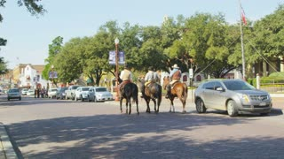 Horse Riders on Dallas Street