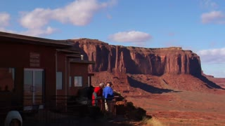 Hotel Overlooking Monument Valley
