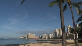 Hotels Along Hawaii Beach