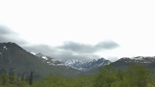 Huge Alaskan Mountain Range