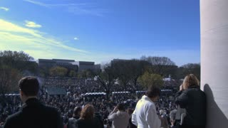 Huge Crowd at Rally