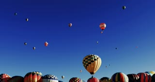 Hundreds of Hot Air Balloons at Albuquerque Balloon Fiesta