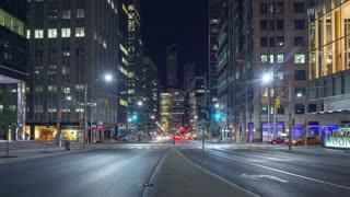 Hyperlapse Timelapse of Toronto (University Avenue)