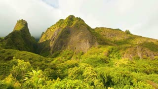 Iao Valley Mountains Timelapse