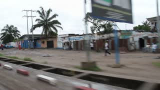 In Driving Through Kinshasa Democratic Republic Of Congo