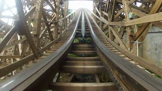 Incline Up the Roller Coaster Ramp