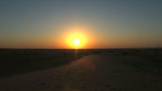 India Desert Sunset