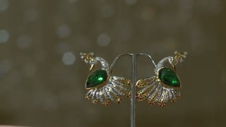 Indian Bird Earrings