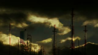 industrial background. oil factory station. industry business