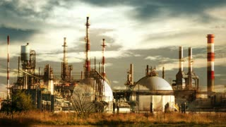 industrial business background. oil factory station. industry