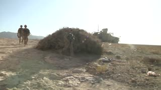 Infantrymen Disrupt Enemy Activity in Eastern Afghanistan