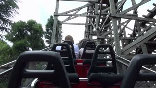Initial Climb and Drop on Roller Coaster