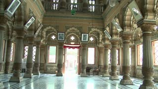 Inside Shinde Chatri Memorial in India