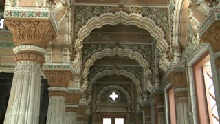 Inside Shinde Chatri Memorial