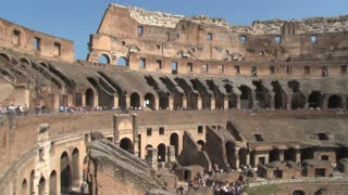 Inside the Colosseum Panning View 2