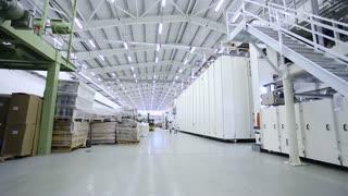 interior modern factory