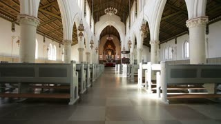Interior View of Copenhagen Church