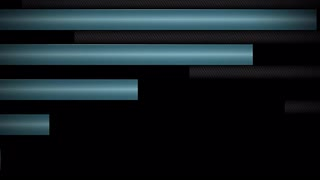 Interlocking Metal Bars Transition Teal