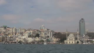 Istanbul Mosque and Buildings from Bosphorus 1
