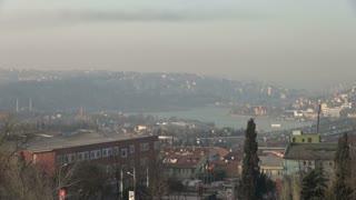 Istanbul Sprawling City Scape