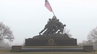 Iwo Jima Battle Statue