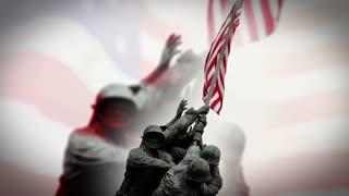 Iwo Jima Waving Flag