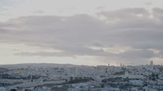 Jerusalem sunset timelapse 1