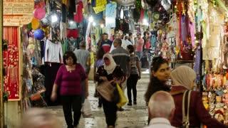 Jerusalem street market timelapse 0913 2