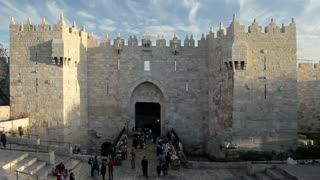 Jerusalem, The Old City, Damascus Gate, Middle East, Israel,