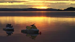 Jet Ski Sunset