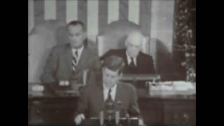 JFK Speech Man Landing On The Moon