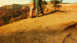Jib Shot Of Photographer Bryce Canyon National Park