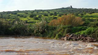 Jordan River in Israel 2
