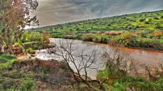 Jordan River in Israel
