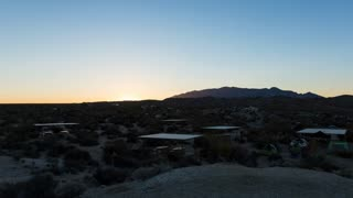 Joshua Tree National Park Sunrise Timelapse