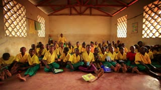 Kenya Classroom Filled with Students 3