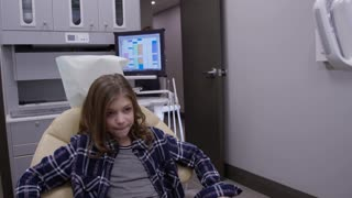 Kids at the Dentist - Getting dental work done by hygienist