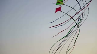 Kites Looping In The Sky