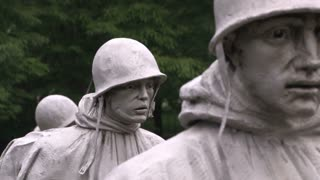 Korean War Veterans Memorial Close Up 2