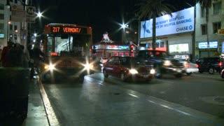 LA Bus Stop Timelapse