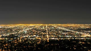 LA CIty Overview Timelapse